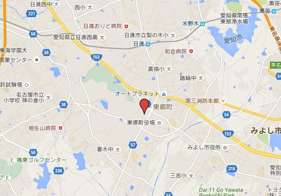 ららぽーと東郷の場所