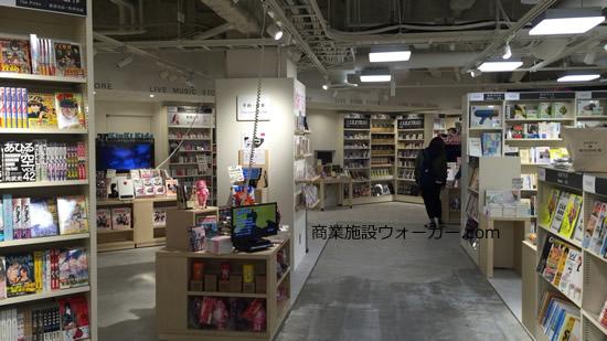 渋谷モディのHMVフロア